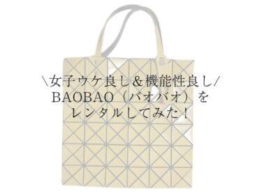 女子ウケメンズバッグ「バオバオ」のポイントと使用感レビュー